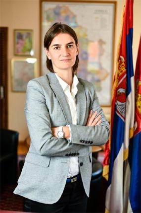 Ana Brnabic Prime Minister of Serbia
