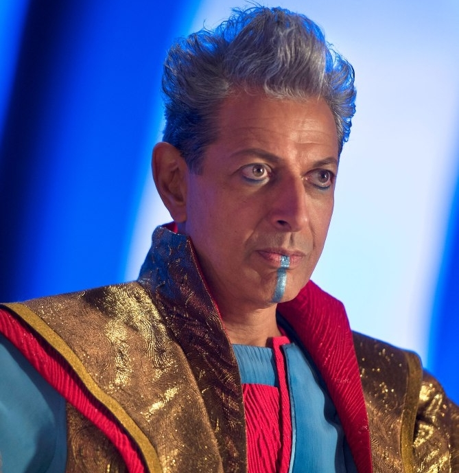 Jeff Goldblum in thor