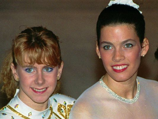 Tonya Harding and Nancy Kerrigan whhhhy!