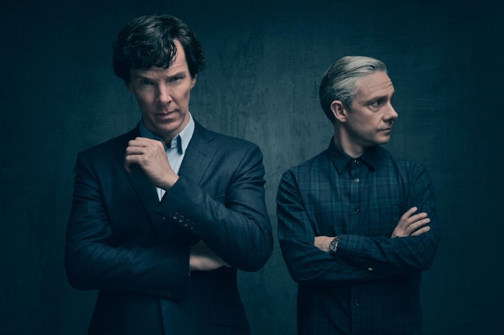 Sherlock and Watson in love nsfw