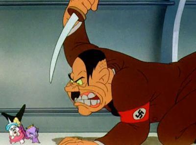 Hitler looney toons