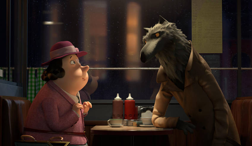 Revolting Rhymes  wolf Dominic West