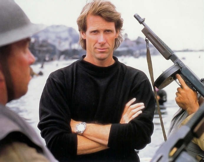 Michael Bay not sad but happy and sexy   directing