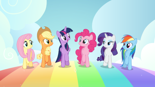 My Little Pony look a these ponies