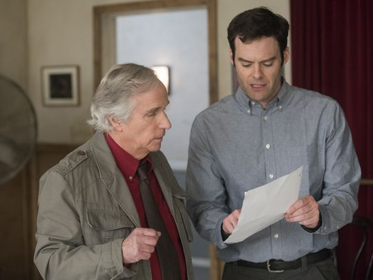 Barry Bill Hader hbo assassin actor Henry Winkler