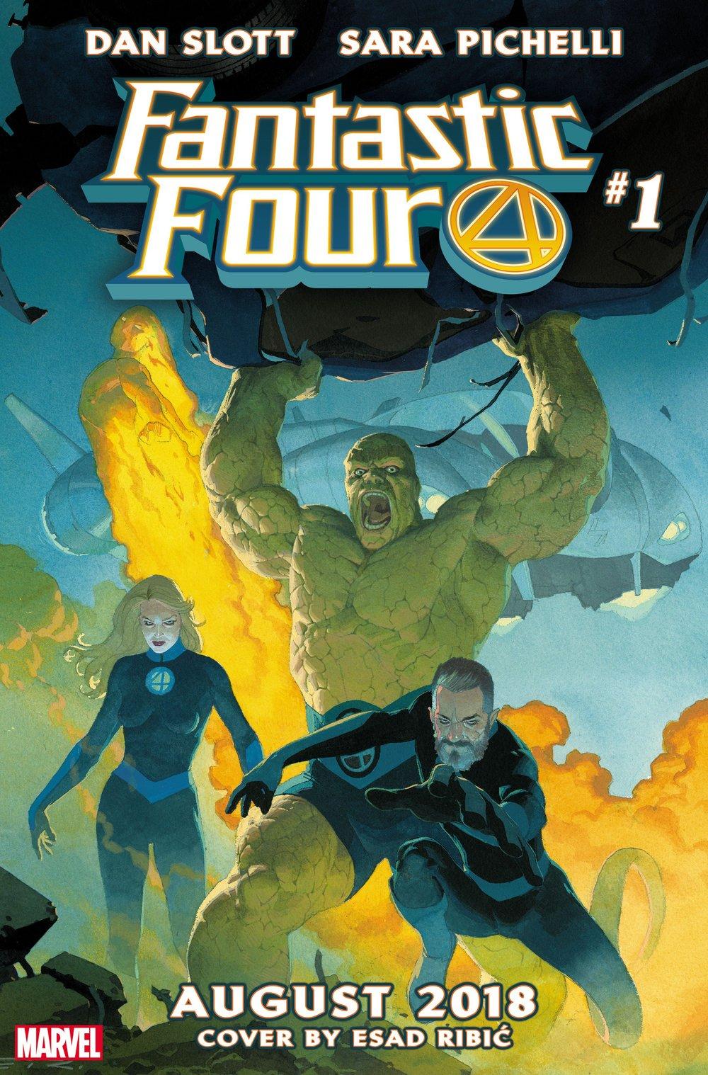 Mr. Fantastic marvel comic Fantastic Four Dan Slott