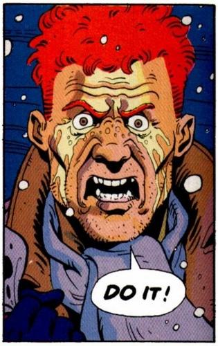Watchmen Alan Moore Dave Gibbons  John Higgins comic dc  rorschach death