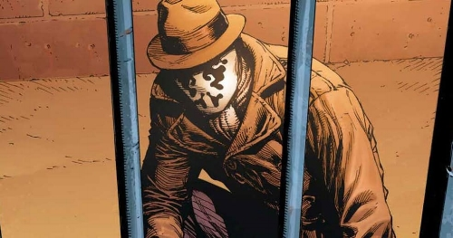 Watchmen Alan Moore Dave Gibbons  John Higgins comic dc fuck this  Rorschach is dead