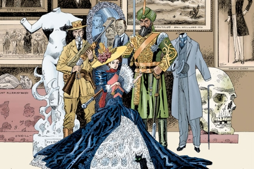 League of Extraordinary Gentlemen. Alan Moore