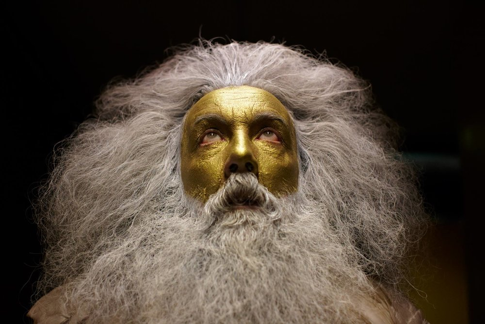 Alan Moore golden god