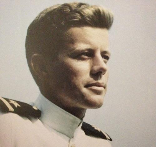 JFK young navey