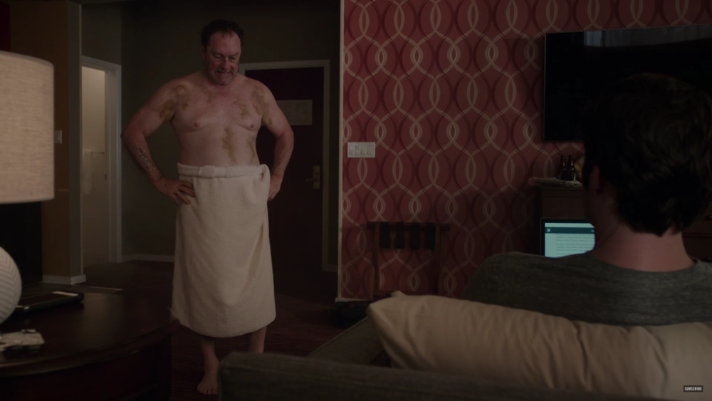 Stephen Root as Fuches barry hbo tv show shirtless