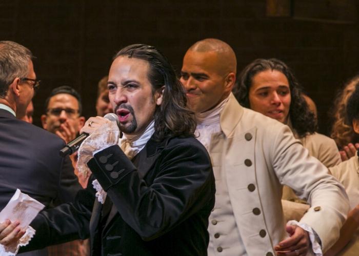 Alexander Hamilton Aaron Burr, Jr.Lin-Manuel Miranda Leslie Odom, Jr