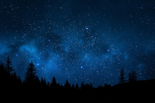 night time darkness