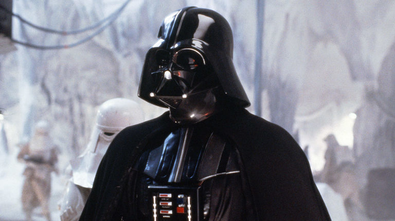 "David Prowse  as  Darth Vader  (voiced by  James Earl Jones ): A  Sith  lord, second in command of the  Galactic Empire , who hopes to destroy the Rebel Alliance.  Lucas originally intended for  Orson Welles  to voice Vader (after dismissing using Prowse's own voice due to his English  West Country  accent, leading to the rest of the cast nicknaming him ""Darth Farmer""). [21]  After deciding that Welles' voice would be too recognizable, he cast the lesser-known James Earl Jones instead"