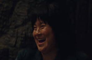 Kelly Marie Tran  as  Rose Tico , a member of the Resistance who at the beginning works in maintenance