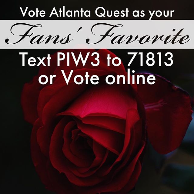 Vote here - http://wgi.org/fansfavorite (PIW3)  Fans' favorite! Loved our uniforms? Think the roses are a nice touch? Or did you just appreciate our entire show package? Then send in your vote for Atlanta Quest as Fans' Favorite! #AQXV #wgi40 #AQlife #fansfavorite #wgi2017