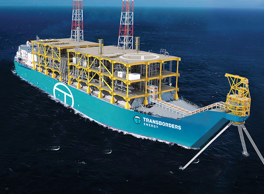 Transborders Energy FLNG Vessel