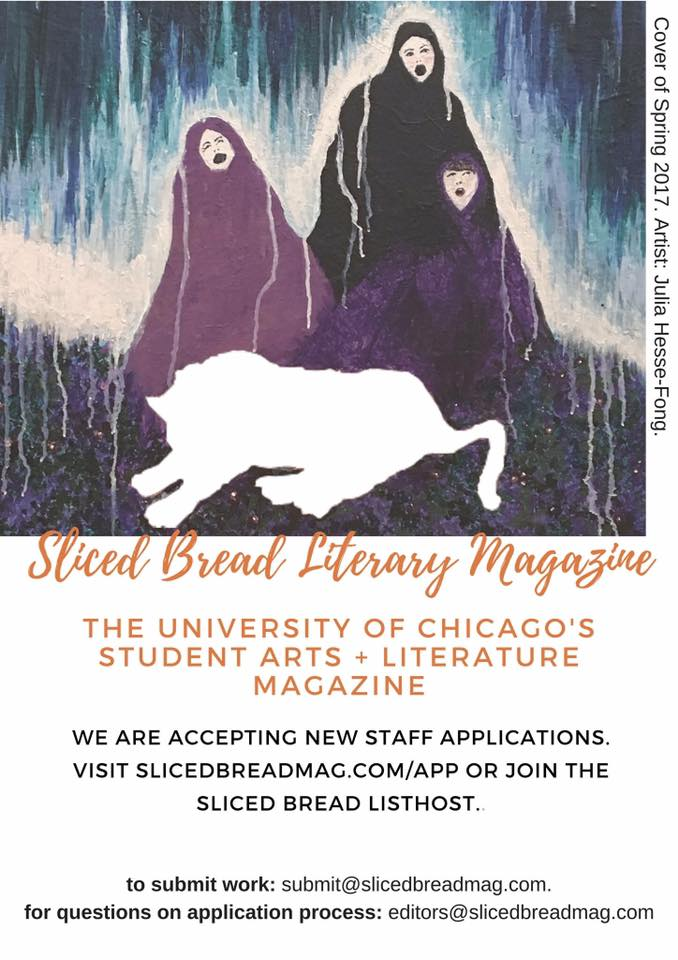 New Staff Application! — Sliced Bread Magazine