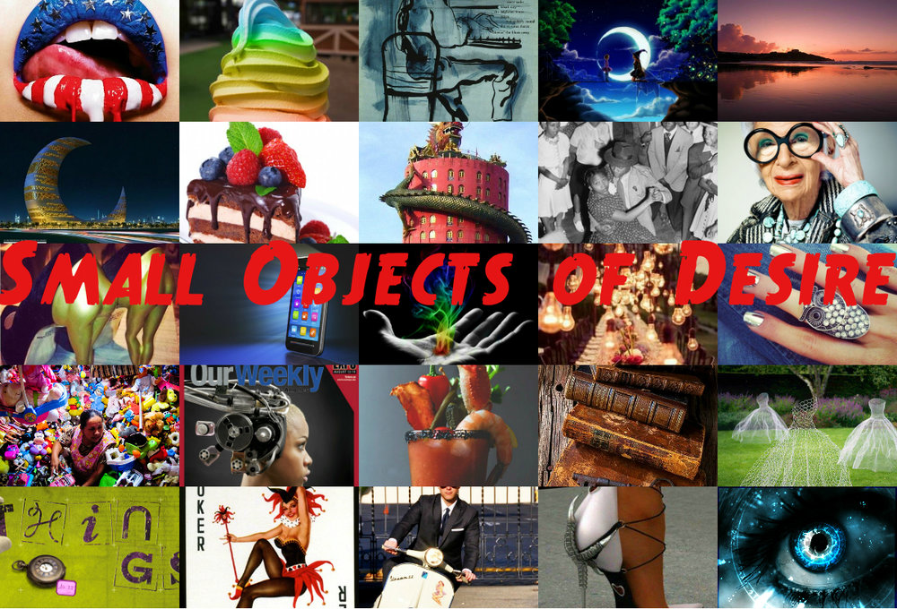 Small Objects of Desire is a repository for Dzifa to write short pieces about popular culture that don't fit easily elsewhere. It is subject to the capricious nature of artistic license. Armed with 80wpm and too much geekery than is fashionable, she reports back from the frontline of popular culture. The random prevails. Anything could happen.
