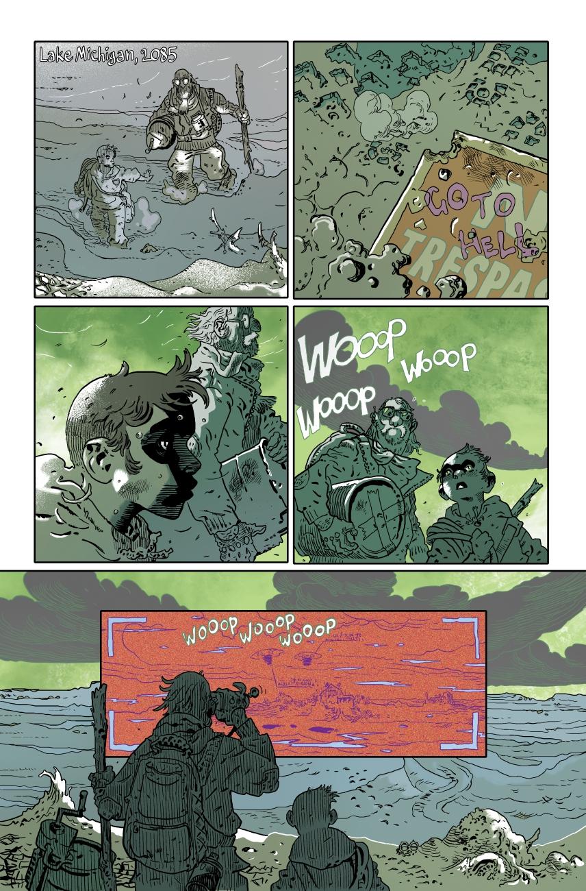Black Water pg1 (4pg short) w/ Artyom Trakhanov (pencils, inks, colors, lettering)