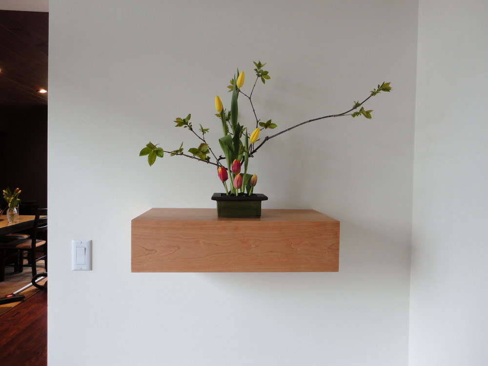 Cherry Wall Box -