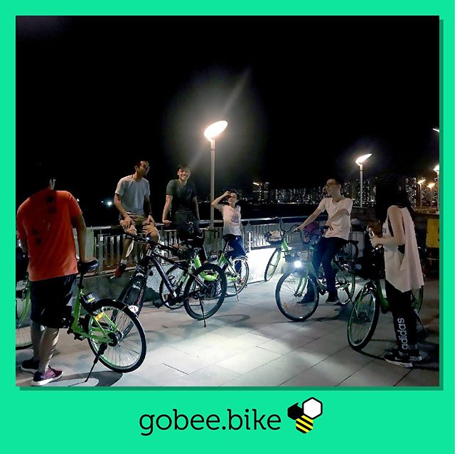 Just Meet's group hike and night bike Meetup over the weekend. Want to lead our next social ride? Register to become a Gobee Captain.  #socialriding #bikesharing #internetofthings #gobeebike #smartmobility #discoverhongkong #visithongkong #meetup #tourhongkong #cycling #gobeecaptain