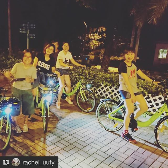 Have you taken our bikes out for a night ride yet? Tag us at #gobeebike and #nightride for your chance to get featured in our feed.  #Repost @rachel_uuty (@get_repost) ・・・ What #life would be if we have no courage to attempt anything? #nightbiking #gobeebike #eat #play #love #lazy #sleeping #camping #stupid #young