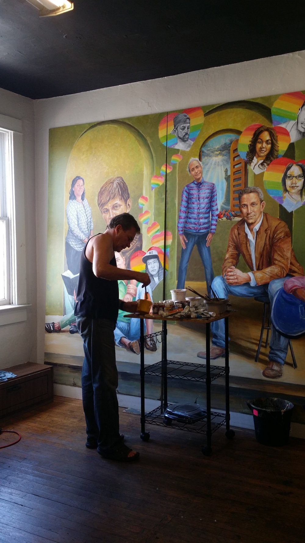 Yury in the Studio