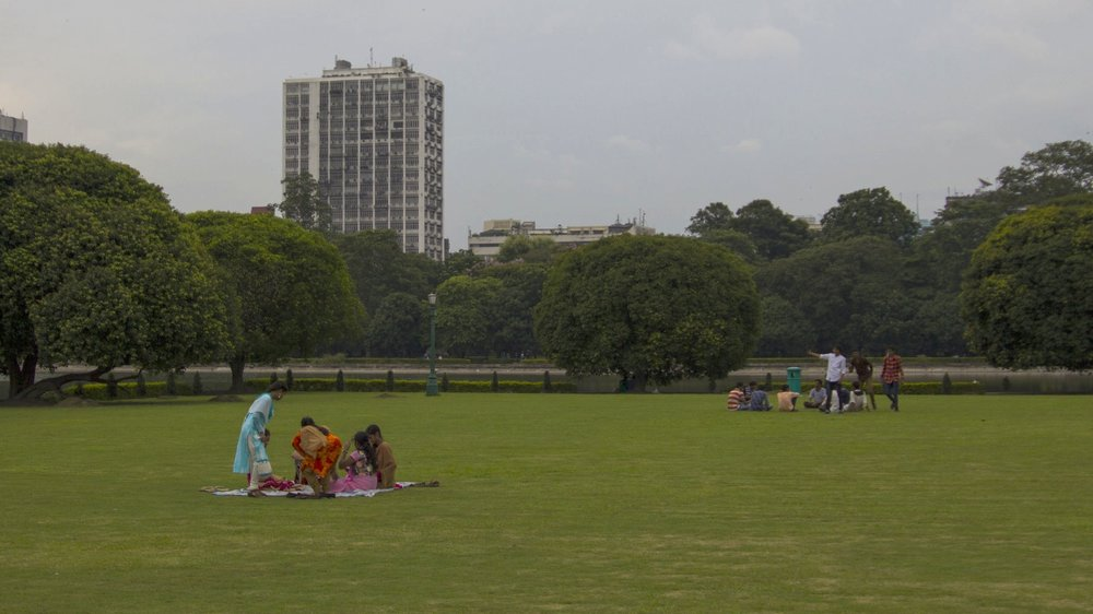 Lord Redesdale and David Prain designed the gardens and grounds of the Victoria Memorial in Kolkata, which is open to visitors even on national holidays. Photo by Kaylee Tornay.