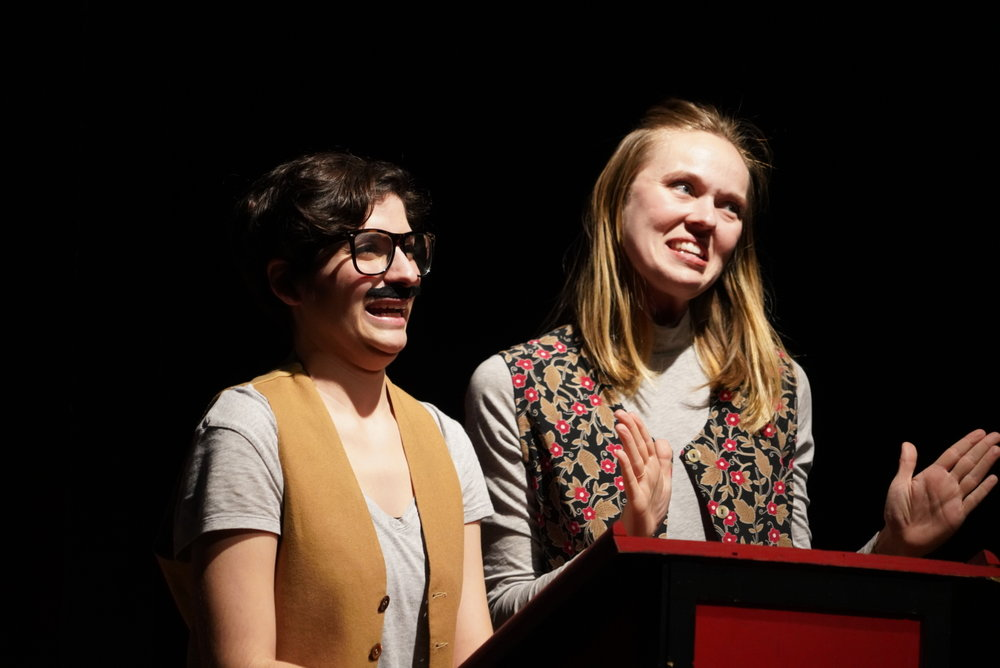 'Yes She Cannes!' at The Peoples Improv Theater Written & Performed by Jackie Abbott & Ellen Haun