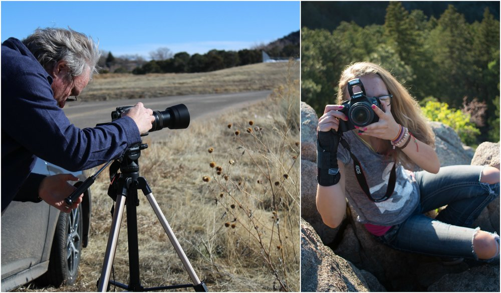 SteveAndLizzieWithCameras.jpg