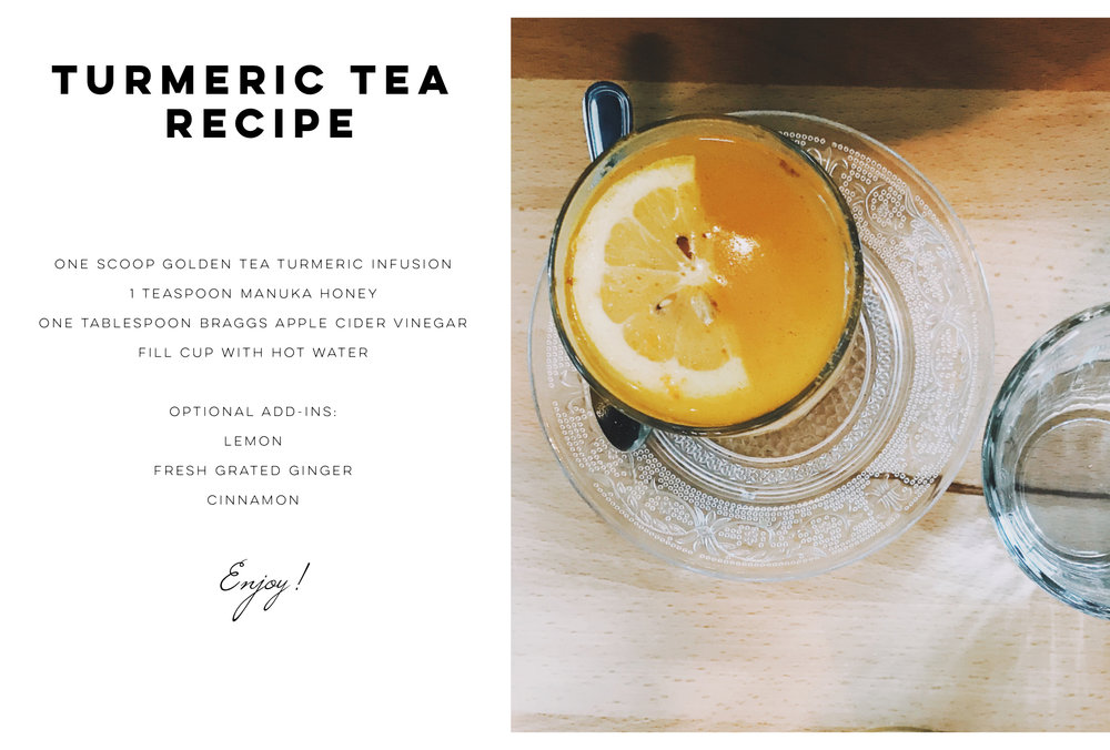 Wellness Wednesdays: Simple Turmeric Apple Cider Vinegar Tea Recipe