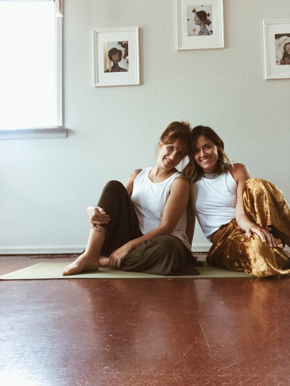 We can't wait to be with you. - We are Abby and Amber, and we're so excited to enjoy this beautiful time together. We have each studied yoga therapy, trauma-informed yoga, and come from a Christ-centered perspective. We are excited to create a safe and sacred environment for you to have some meaningful time of restoration and rest. We have a limited number of spots, so if you're feeling a pull toward doing this, please reserve your spot or reach out if you have any questions at all! We'd love to talk about this and see if it's right for you.