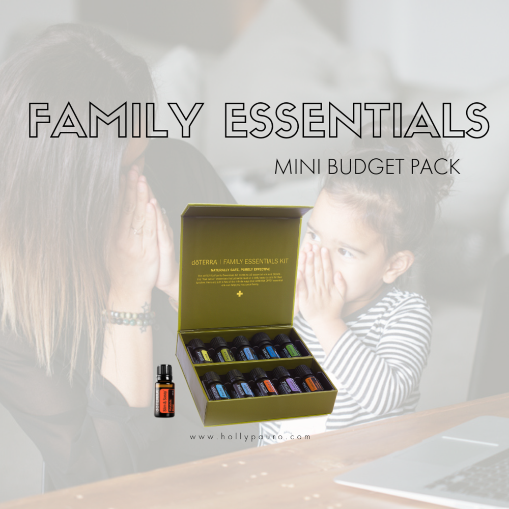 Mini Budget Pack - 5ml LEMON: Detox, Cleanse + Focus5ml LAVENDER: Sleep, Calm + Soothe5ml FRANKINCENSE: Cellular Health5ml PEPPERMINT: Energy Focus5ml OREGANO: Immunity + Digestion5ml TEA TREE : Hair, Skin, Ears + Nails5ml EASYAIR: Ease Breathing, Snoring5ml ICEBLUE: Ease Discomfort5ml ONGUARD: Immunity + Protection5ml DIGESTZEN: Digestion FREE = SMART + SASSY: Cravings