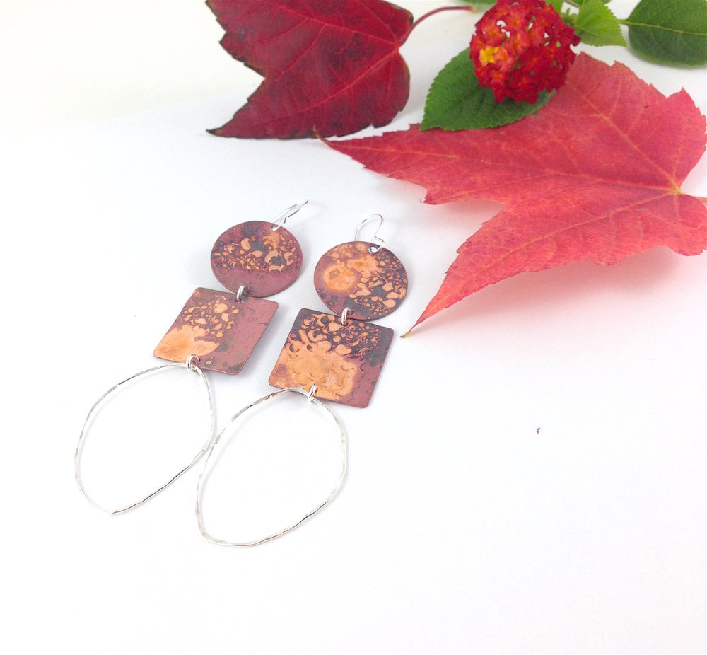 handmade copper jewelry