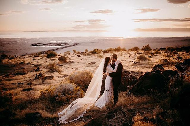 Chris + Laura + The Spiral Jetty 😍❤️