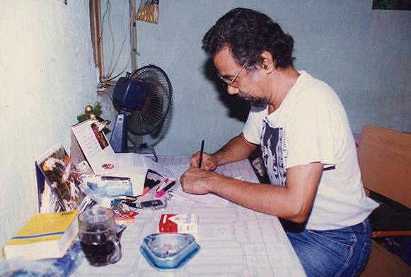 Kay Rala Xanana Gusmão in Cipinang Prison, Indonesia
