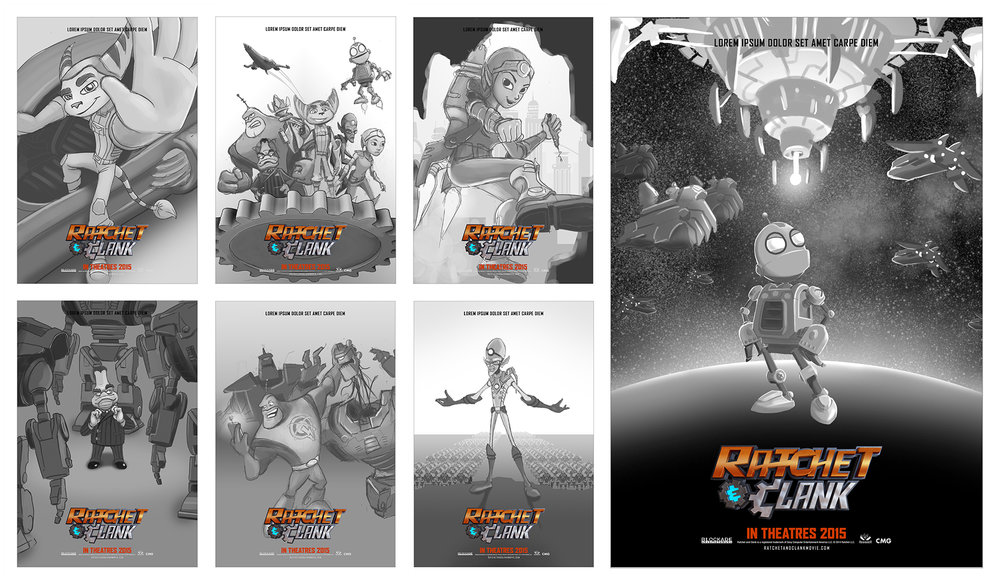 Ratchet & Clank Movie Posters