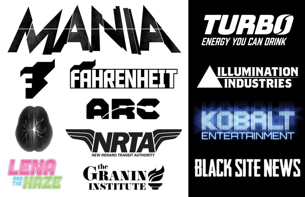MANIA Logos