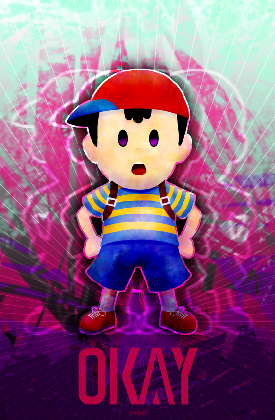 Ness Taunt Poster
