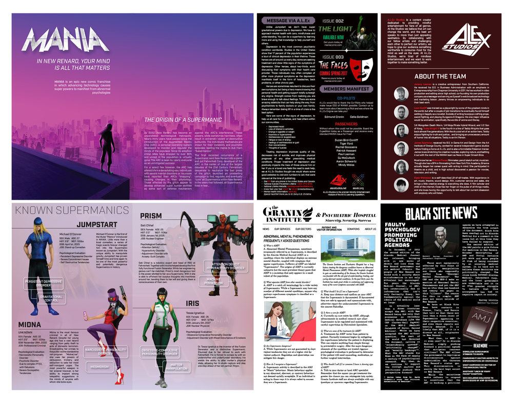 MANIA Page Layouts