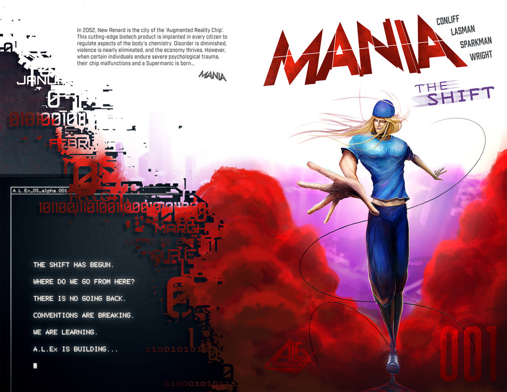 MANIA Issue 1 Cover