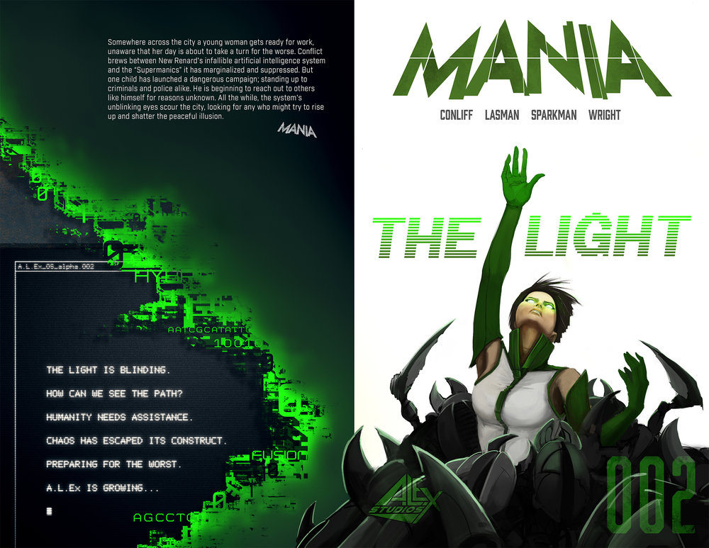 MANIA Issue 2 Cover