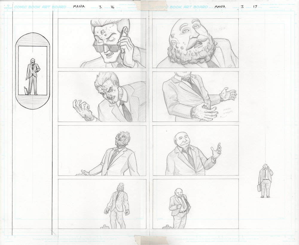 MANIA Issue 3, Pages 16 & 17