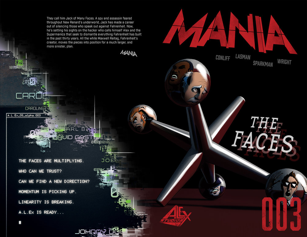 MANIA Issue 3 Cover