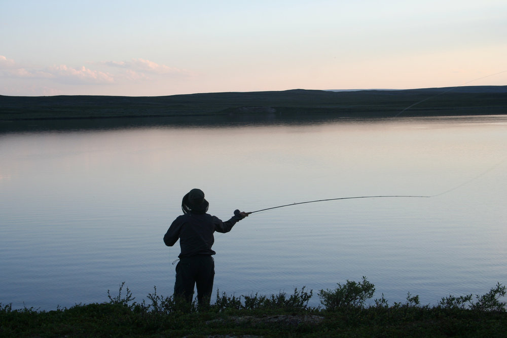 Salmontrippin' in Swedish Lapland - A story by Ted Logartwww.swedishlapland.com