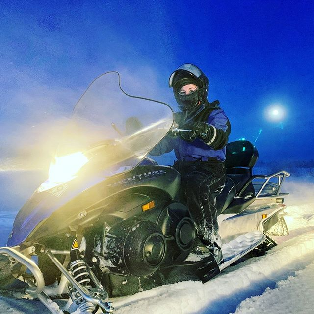 Nono, not do cold... @sweden @swedishlapland @visitswedende @visitsweden @heartoflapland @overtorneakommun @original_lapland_tornedalen @destinationovertornea #fantastictime #winterwonderland #polarcircle #instasweden #kuivakangas
