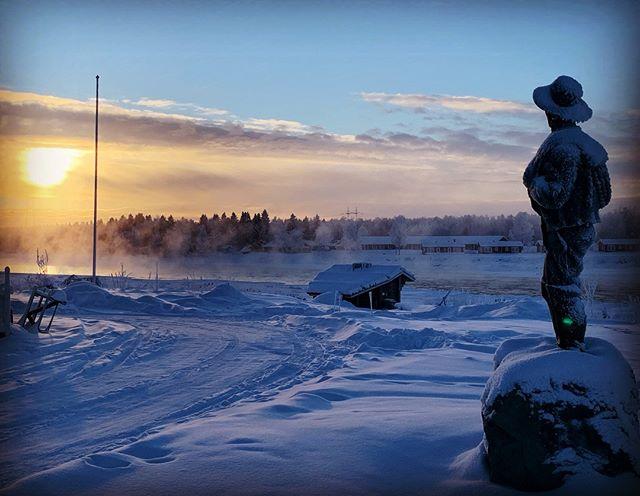Go fot it @sweden @swedishlapland @visitswedende @visitsweden @heartoflapland @overtorneakommun @original_lapland_tornedalen @destinationovertornea #fantastictime #winterwonderland #polarcircle #instasweden #kukkolankoski