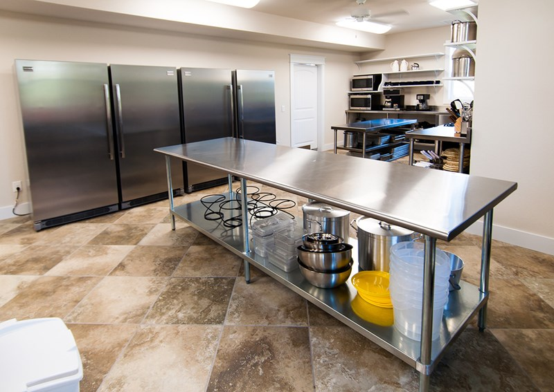 Commercial Style Kitchen on level 2
